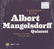 Albert Mangelsdorff Quintett CD