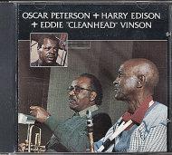 "Oscar Peterson + Harry Edison + Eddie ""Cleanhead"" Vinson CD"