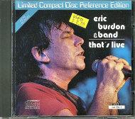 Eric Burdon & Band CD