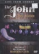 Dr. John with Chris Barber DVD