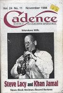 Cadence Vol. 24 No. 11 Magazine