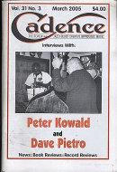 Cadence Vol. 31 No. 3 Magazine