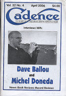 Cadence Vol. 32 No. 4 Magazine