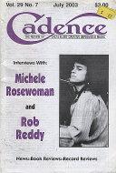 Cadence Vol. 29 No. 7 Magazine