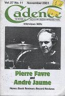 Cadence Vol. 27 No. 11 Magazine