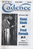 Cadence Vol. 27 No. 6 Magazine