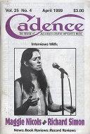 Cadence Vol. 25 No. 4 Magazine