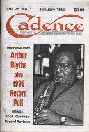Cadence Vol. 25 No. 1 Magazine