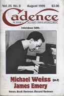 Cadence Vol. 25 No. 8 Magazine