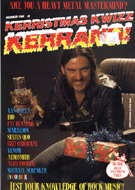 Kerrang! Kerristmas Kwizz 1984 Magazine