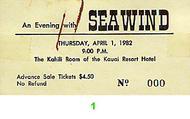 Seawind Vintage Ticket