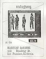 Undersong Handbill