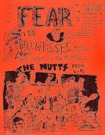 Fear Handbill