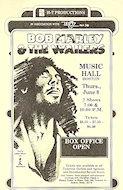Bob Marley and the Wailers Handbill
