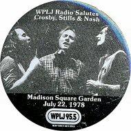 Crosby, Stills & Nash Pin