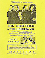 Big Brother and the Holding Company Postcard