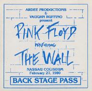 Pink Floyd Backstage Pass
