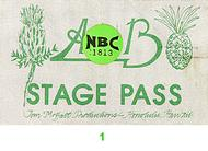 Average White Band Backstage Pass