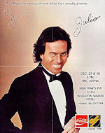 Julio Iglesias Poster