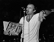 Phil Collins Vintage Print