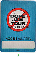 Kool Moe Dee Backstage Pass