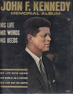 John F. Kennedy Memorial Album Magazine