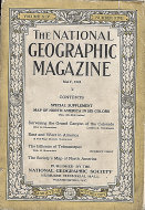 The National Geographic Vol. XLV No. 5 Magazine