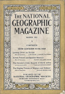 The National Geographic Vol. XLVII No. 3 Magazine