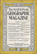 National Geographic Vol. LXXIX No. 1 Magazine