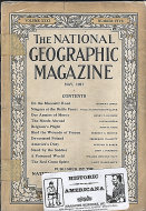 The National Geographic Vol. XXXI No. 5 Magazine