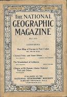 National Geographic Vol. XXVIII No. 1 Magazine