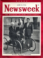 Newsweek Vol. XXVII No. 23 Magazine
