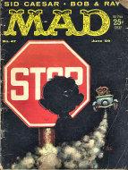 Mad Vol. 1 No. 47 Magazine