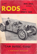 Northwest Rods and Sports Cars Vol. 1 No. 4 Magazine