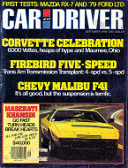 Car and Driver Vol. 24 No. 3 Magazine