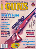 Guns Vol. XXX No. 10 - 4 Magazine