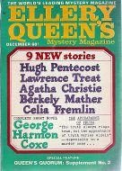 Ellery Queen's Mystery Vol. 52 No. 6 Magazine