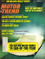 Motor Trend Vol. 25 No. 12 Magazine