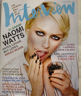 Andy Warhol's Interview Vol. XXXIII No. 11 Magazine