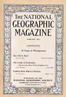National Geographic Vol. XXIX No. 2 Magazine