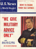U.S. News & World Report Vol. XXXVIII No. 8 Magazine