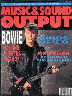 Music & Sound Output Vol. 7 No. 8 Magazine