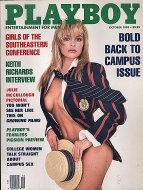 Playboy Vol. 36 No. 10 Magazine