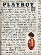 Playboy Vol. 8 No. 6 Magazine