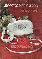 Montgomery Ward Christmas Catalog Chicago 1964 Magazine