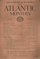 The Atlantic Monthly Vol. 131 No. 6 Magazine