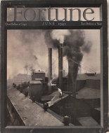 Fortune Magazine Vol. XXIII No. 6 Magazine