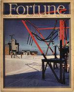 Fortune Magazine Vol. XXIII No. 1 Magazine