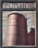 Fortune Magazine Vol. XIX No. 4 Magazine