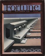 Fortune Magazine Vol. XX No. 5 Magazine